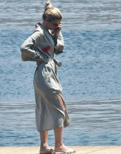 Nazlı Kayı denize girmedi