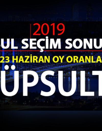 İstanbul Belediye Başkanlığı Eyüpsultan seçim sonuçları ve 23 Haziran Eyüpsultan oy oranları