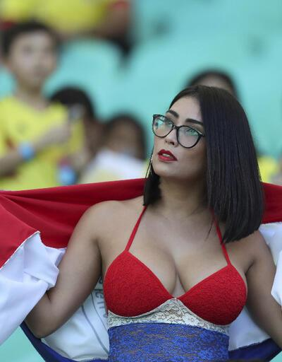 Copa America'dan renkli görüntüler