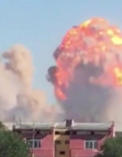 Kazakistan'da ordu deposunda patlama