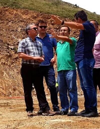 Alaşehir Horzum-Alayaka Barajı'nda inşatının yüzde 25'lik kısmı tamamlandı