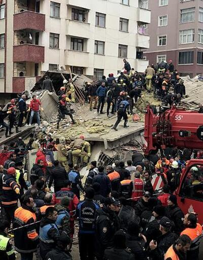 Kartal'da çöken bina davasında sanıklar hakim karşısında