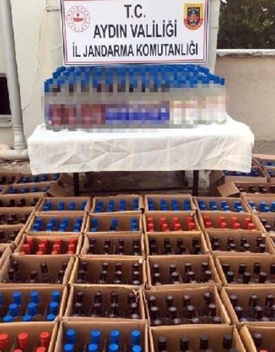 Otelin bodrumunda 885 şişe bandrolsüz içki ele geçirildi