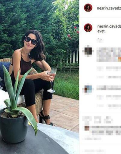 Nesrin Cavadzade'den şaşırtan paylaşım