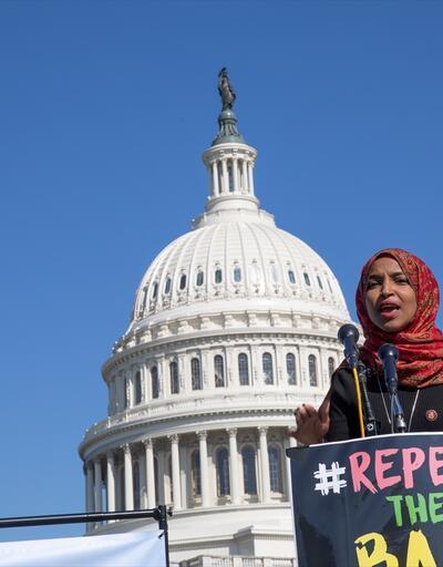 """ABD'de """"Müslümanlara vize yasağı"""" protesto edildi"""