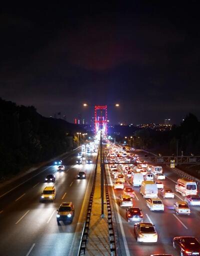 15 Temmuz Şehitler ve FSM köprülerinde çalışma