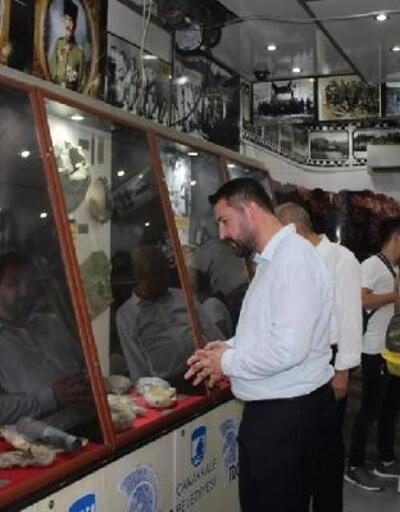 Çanakkale Destanları Müzesi Gezici TIR'ı Turhal'da