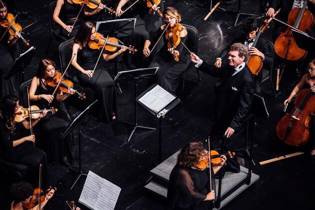 Türkiye Gençlik Filarmoni Orkestrası 4 Eylül'de Zorlu PSM'de