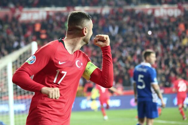 Milli Takım'dan Moldova'ya 4 gol