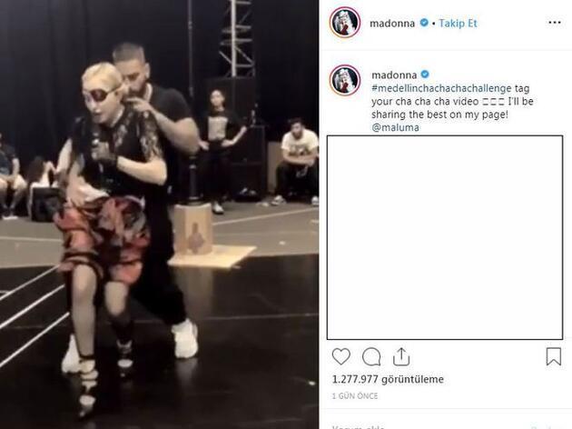 Madonna'dan 5 milyon dolarlık şov