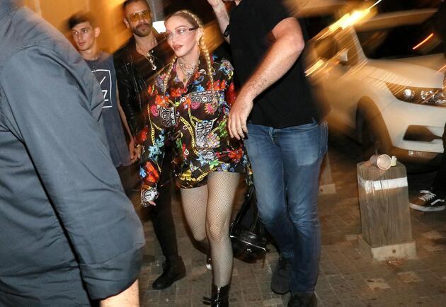 Madonna Tel Aviv sokaklarında görüntülendi