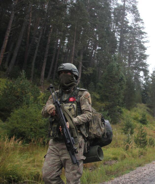 Karadeniz'de PKK'lı 'Kawa' teslim oldu, JÖH'ler şimdi 'Aras'ın peşinde
