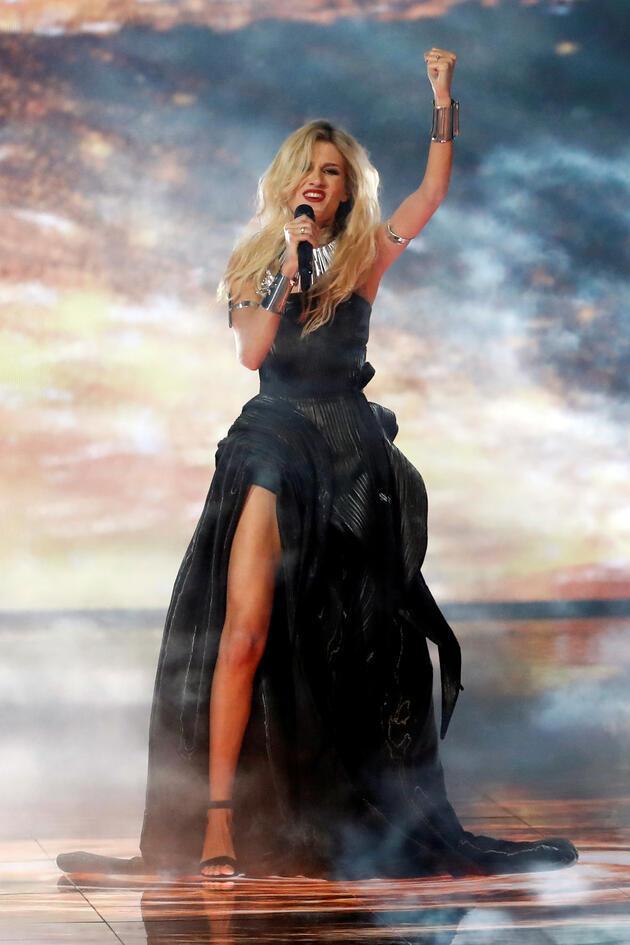 Eurovision'u Hollanda kazandı: İsrail'deki finale Filistin damgası