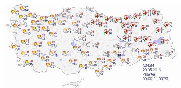 Meteoroloji duyurdu, hafta boyunca hava durumu nasıl olacak?
