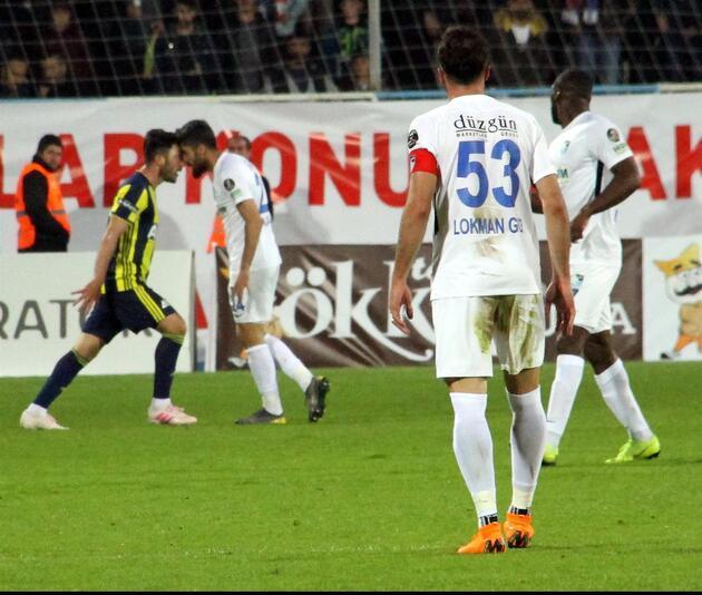 Fenerbahçe Erzurumspor'u zor duruma soktu