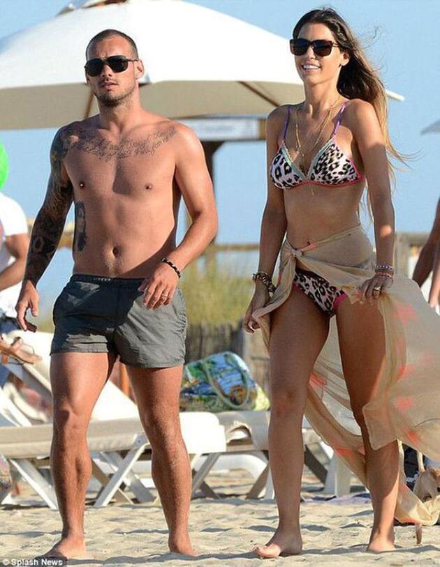 Wesley Sneijder eşi Yolanthe Cabau ile barışmak için her yolu deniyor