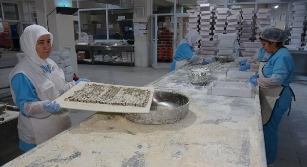 Safranbolu'da bayramlık 100 ton lokum hazırlanıyor