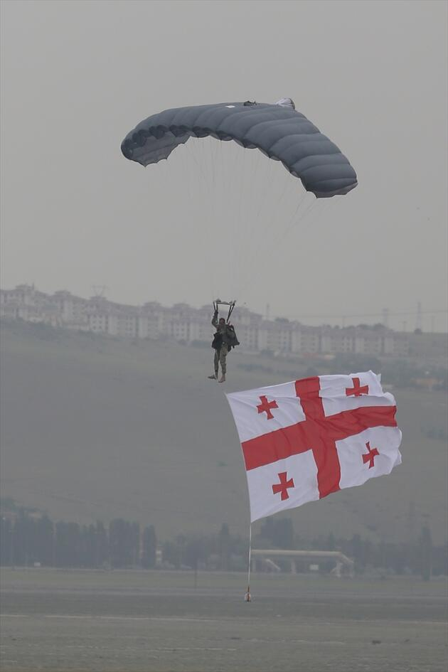 Erciyes Tatbikatı'nda nefes kesen görüntüler