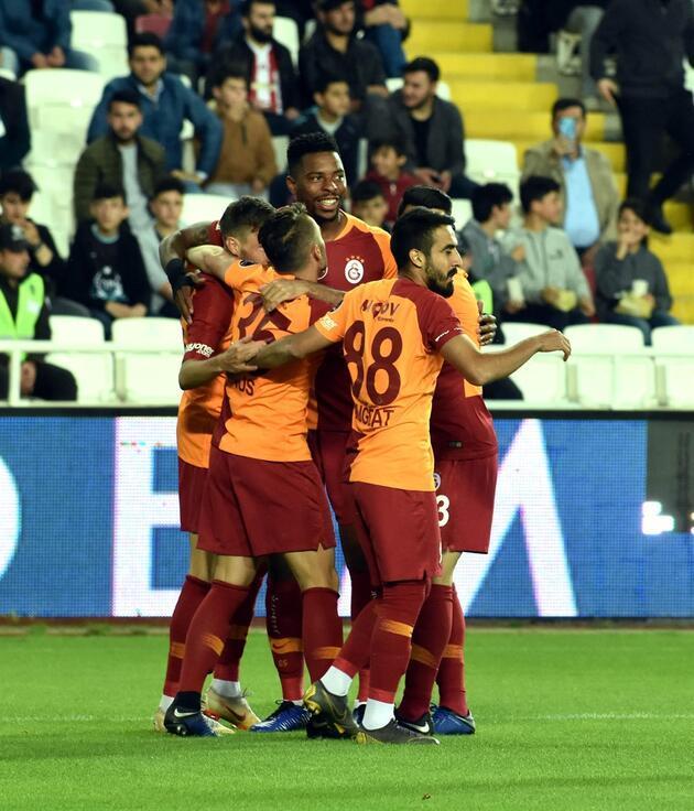 Sivas'ta 7 gollü resital