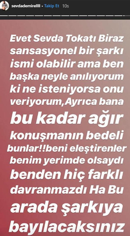 Sevda Demirel'den Hande Ataizi'ne olay teklif!