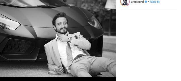 Ahmet Kural'ın fotoğrafı olay oldu!