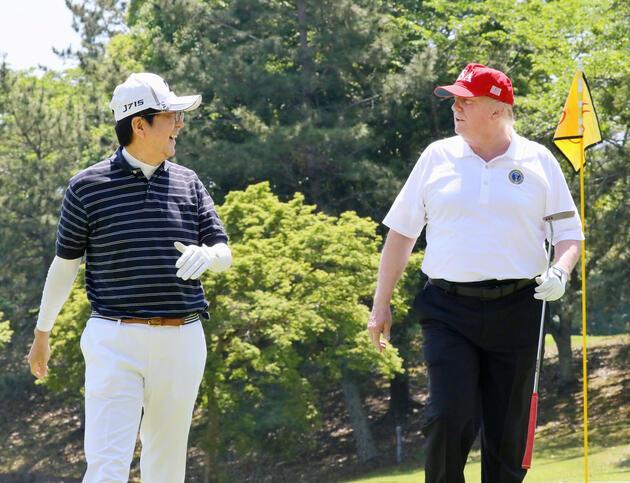 ABD Başkanı Trump'ın Japonya turuna damga vuran anlar: Önce golf sonra sumo