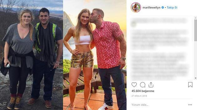 1 yılda 33 kilo verdi... Instagram fenomeni büyük değişimin sırrını açıkladı