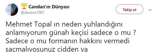Mehmet Topal taraftarı ikiye böldü