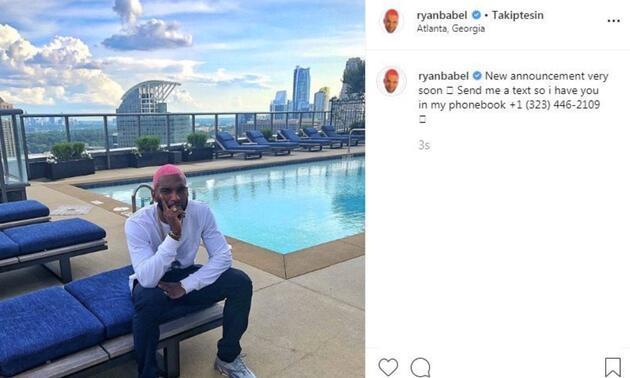 Ryan Babel'den bir paylaşım daha