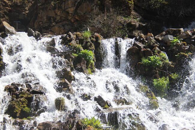 Tomara Şelalesi'ne ziyaretçi akını
