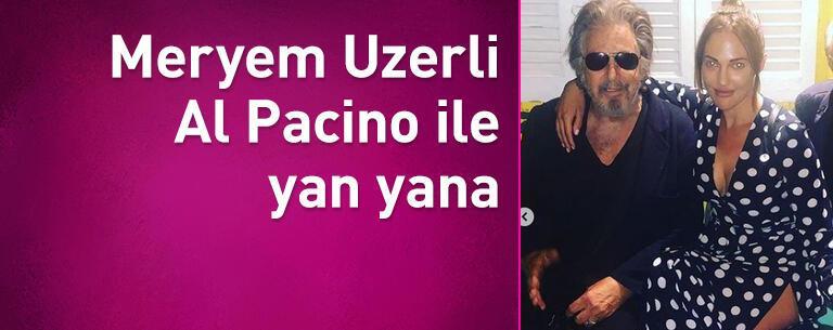 Meryem Uzerli, Al Pacino ile yan yana