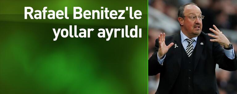 Rafael Benitez'le yollar ayrıldı