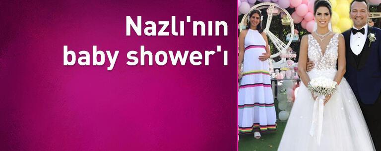 Nazlı'nın baby shower'ı