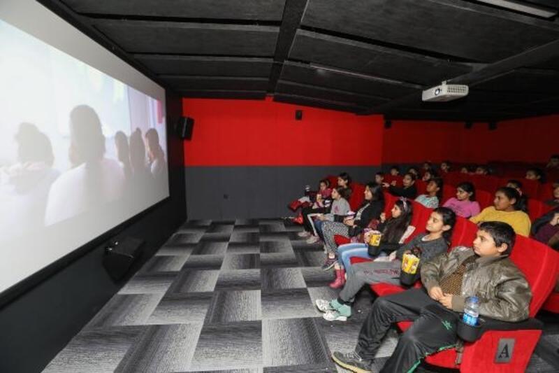 Geleceğin yönetmenlerinin sinema keyfi