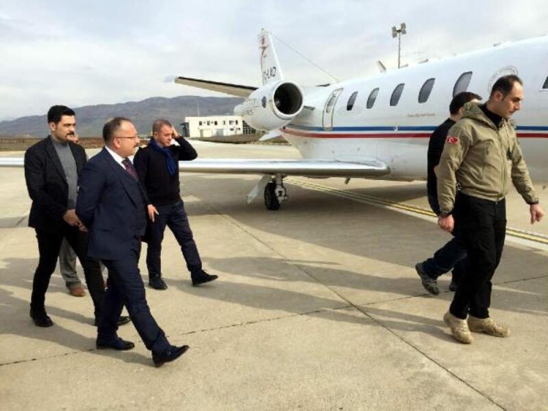Siirt Havaalanı'nın yeni pistinde test uçuşları başladı