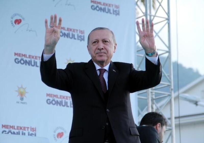 Cumhurbaşkanı Erdoğan Fethiye'de konuştu