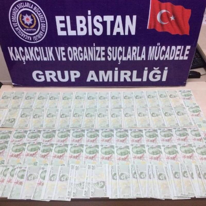 Kahramanmaraş'ta sahte para operasyonu: 1 gözaltı