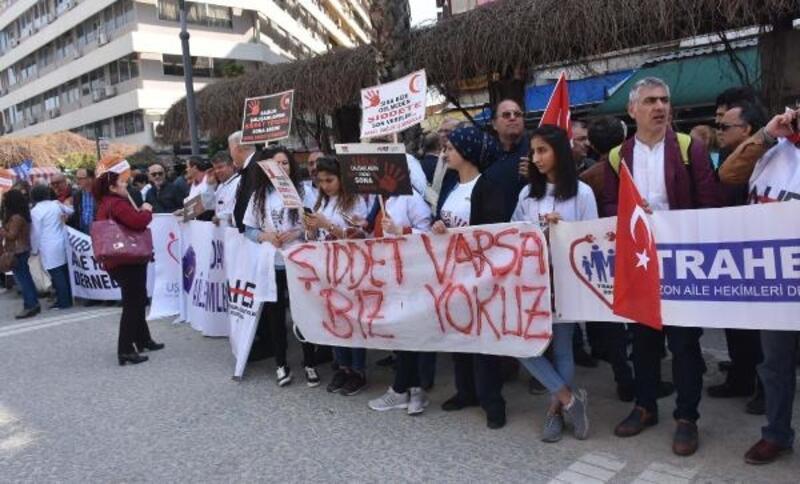 İzmir'de sağlık çalışanlarından şiddete karşı acil önlem talebi