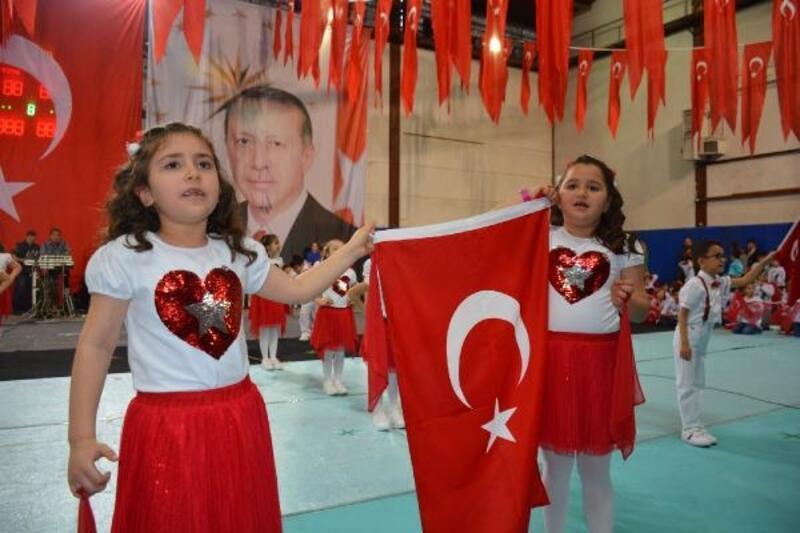 Sinop'ta 23 Nisan kutlaması