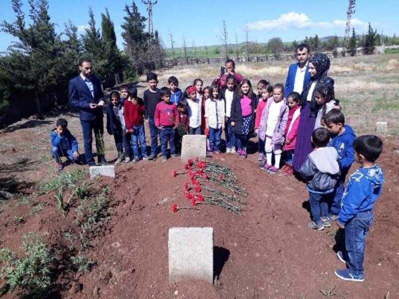 Arkadaşları Ömer'i mezarı başında andı