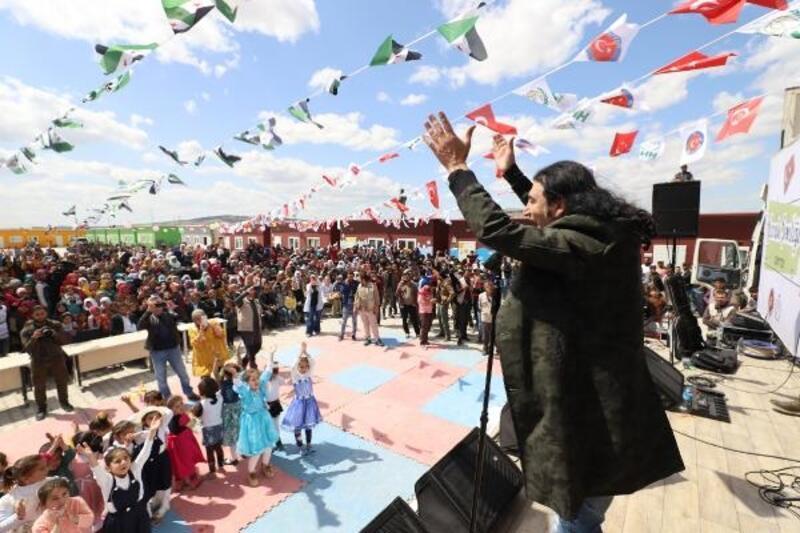 Suriyeli çocuklara, Murat Kekilli konseri
