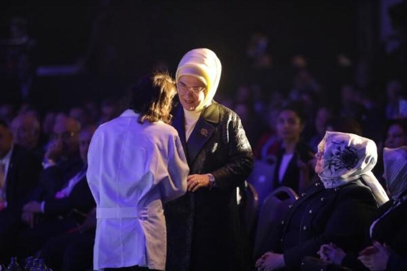 Emine Erdoğan Uluslararası Geleneksel ve Tamamlayıcı Tıp Kongresinde konuştu