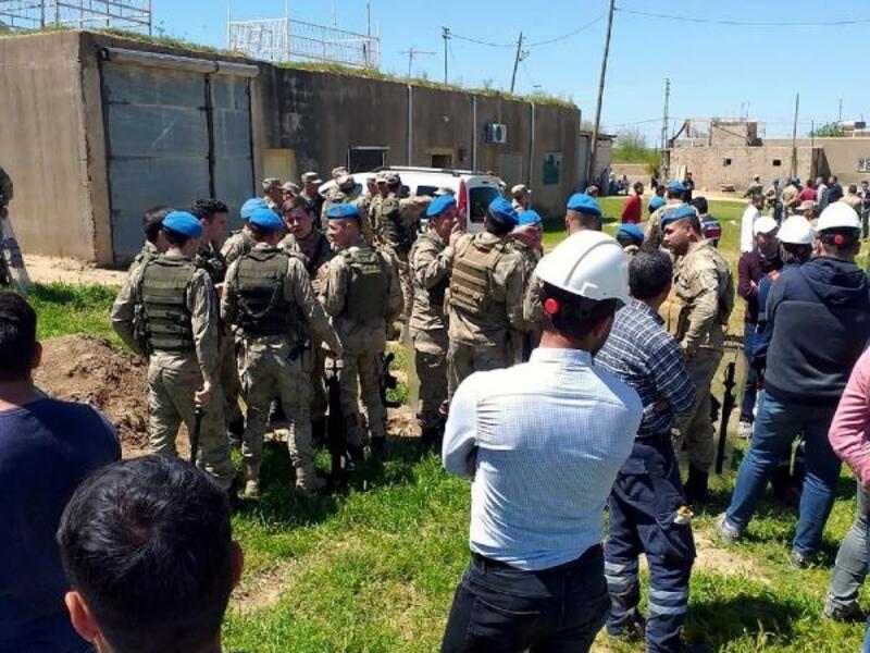 Kızıltepe'de kaçak elektrik kontrolü yapan ekiplere taşlı saldırı