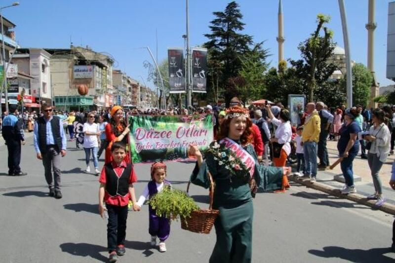 Düzce'de 'ot' festivali