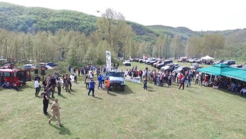 Ereğli'de, Pick-up Off-Road yarışı nefes kesti