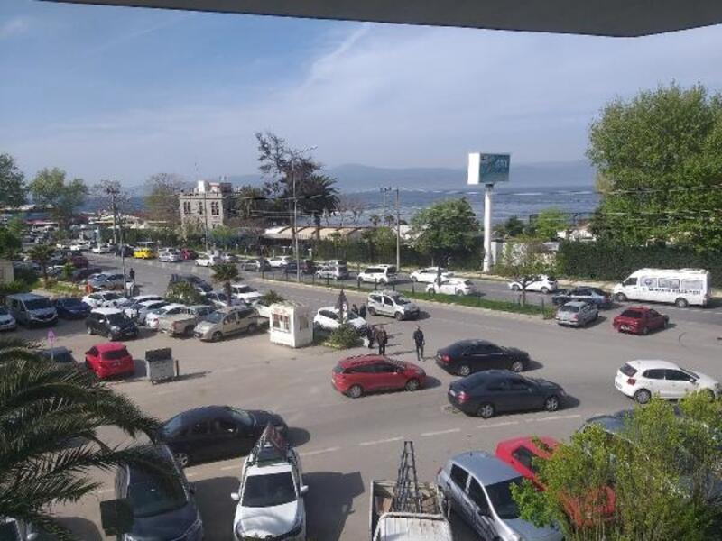 Mudanya'da hafta sonu trafiği