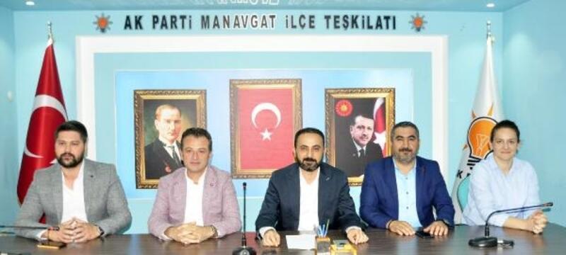 Halimoğlu: Manavgat'a hizmete devam edeceğiz