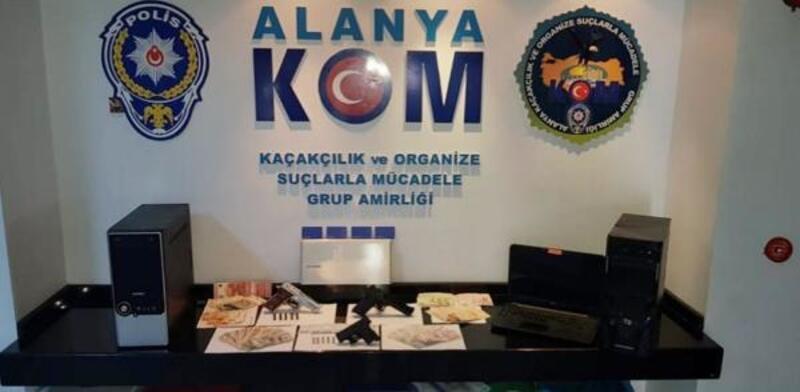 Alanya'da yasa dışı bahis operasyonu: 40 gözaltı