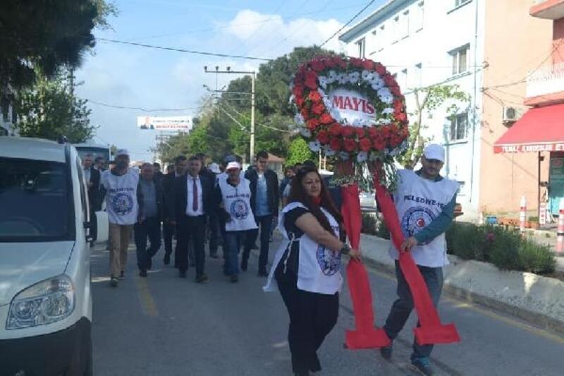Ayvacık'ta 1 Mayıs Emek ve Dayanışma Günü Kutlandı