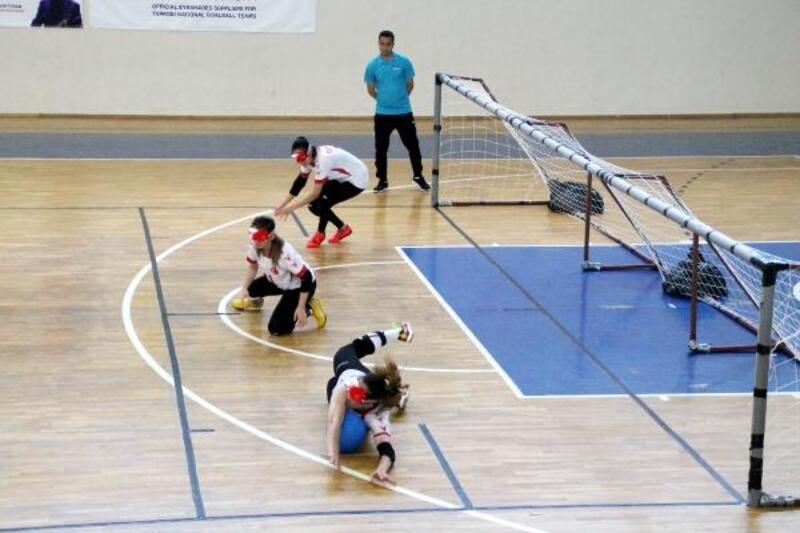 Uluslararası Goalball Turnuvası başladı